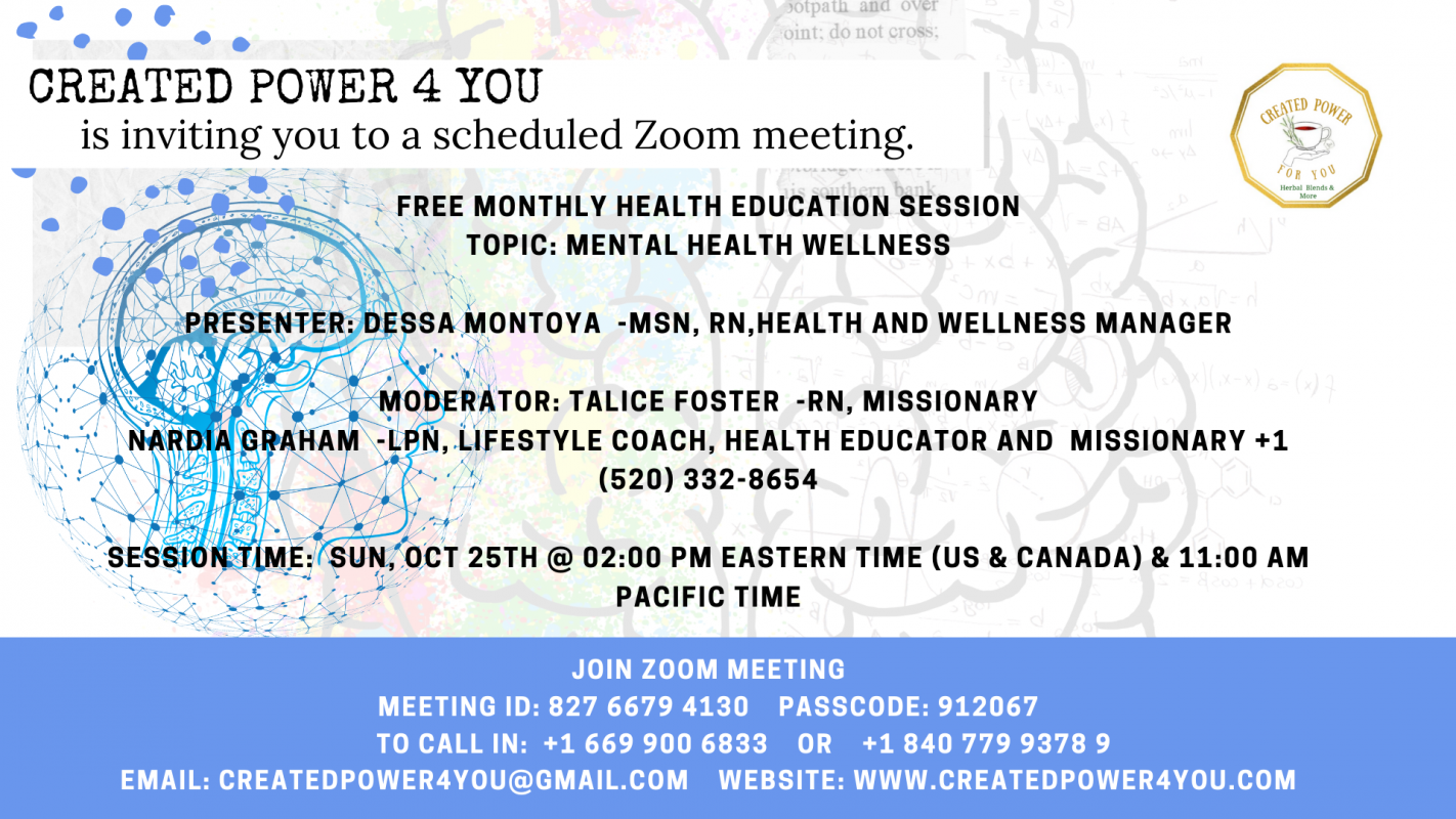 Monthly Health Education Session